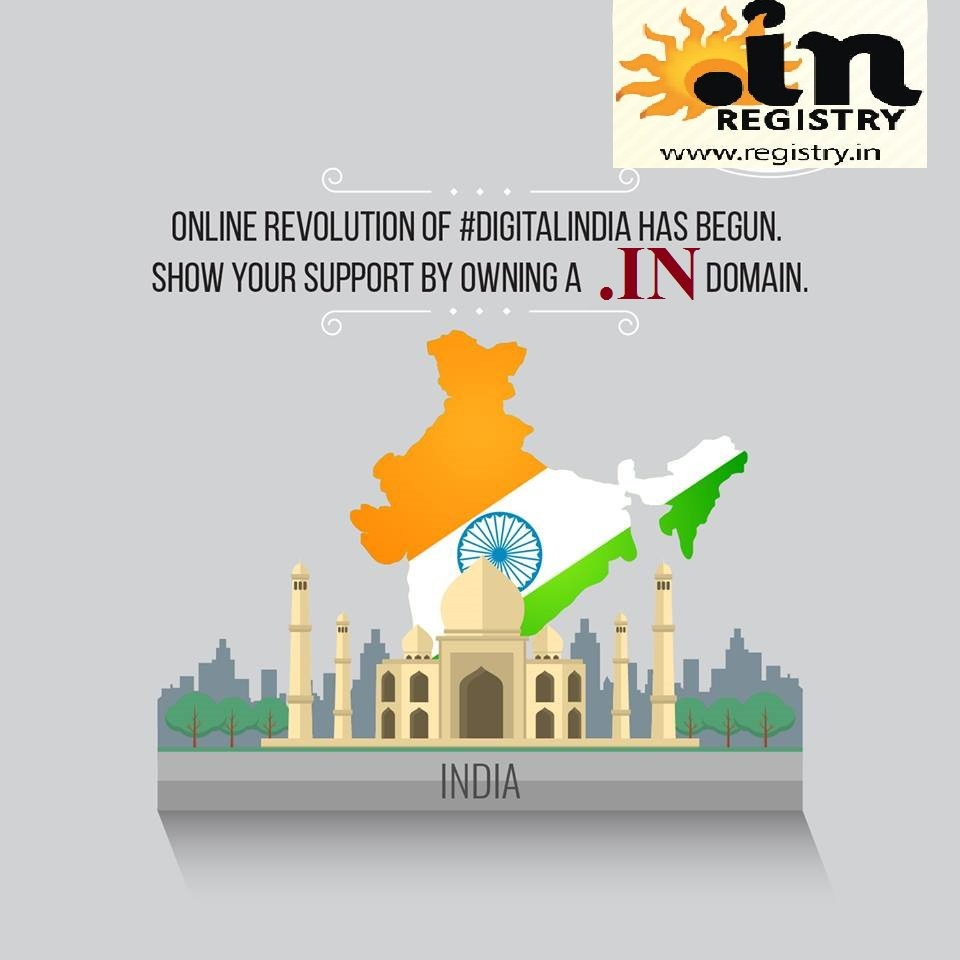 Support Digital India Owning a .IN Name