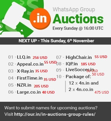 06nov2016-dotinauctionresults