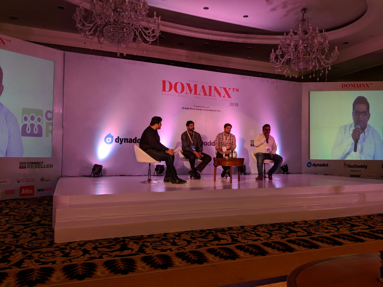 DomainX 2018 - Domain Name Industry Conference - NewDelhi