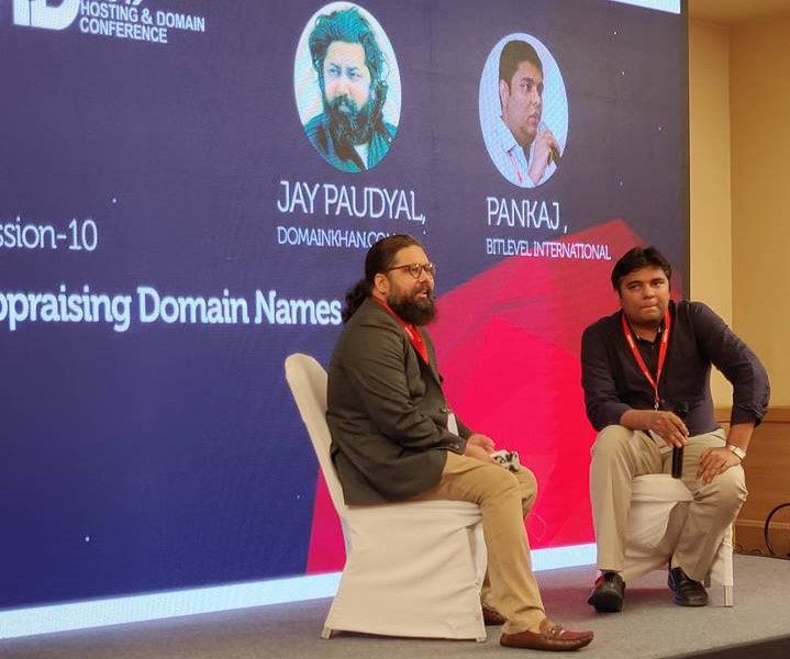 Jay Paudyal and Pankaj at HDCON 2019