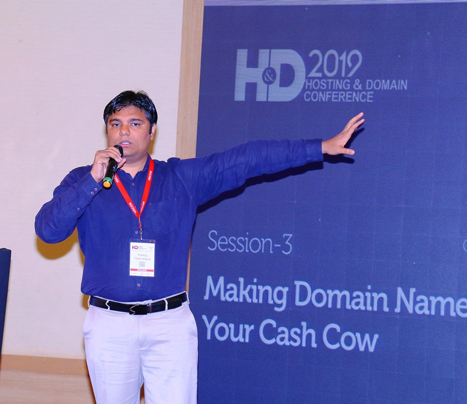 Domain Names Cash Cow presentation by Pankaj Vijayvargiya