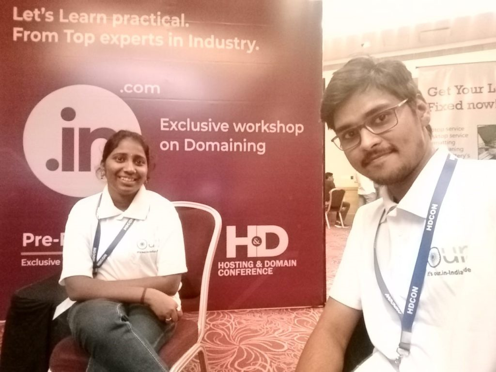OUR.IN TEAM at HDCON 2019