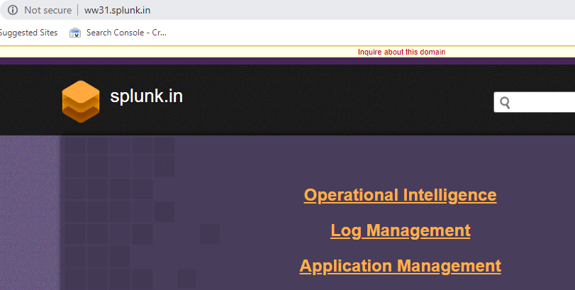 splunk - NEW INDRP Disputes March 2019